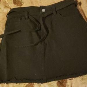 NEW Mini Skirt Black